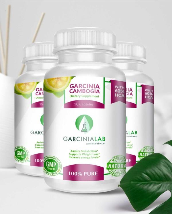 3 Pack | Garcinia Cambogia | 60%