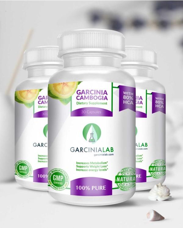 3 Pack | Garcinia Cambogia | 80%